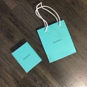 Tiffany & Co. box and bag
